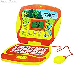 Smart Picks Battery Operated 25 Activities Educational Laptop With Lcd Screen, Mouse,Learning Toys