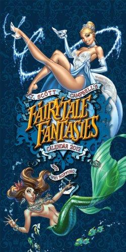 J. Scott Campbell's Fairy Tale Fantasies Calendar 2012