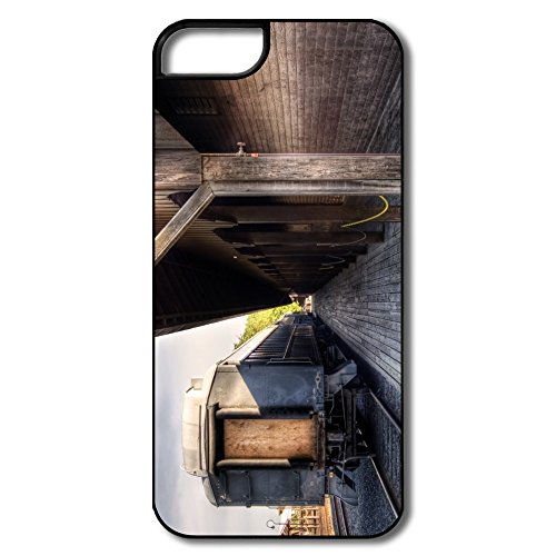 Dreamland Old Railway Station Funny Custom Your Own Covers For Iphone 5 5S