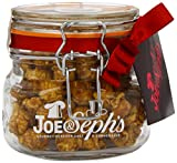 Joe & Seph's Kilner Jar of Caramel with Belgian Chocolate Popcorn