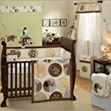 Habitat 4 Piece Baby Crib Bedding Set by Lambs and Ivy