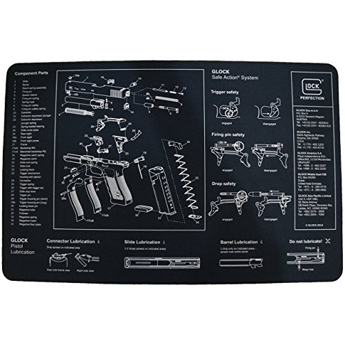 Glock AD00073 Perfection OEM Cleaning Bench Mat (Glock Takedown Tool compare prices)