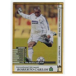 ロベルト・カルロス WCCF 2006-2007 LE レアル・マドリード LEGENDS[悪魔の左足]