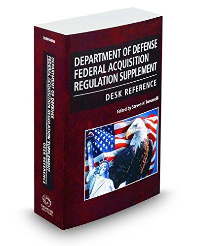 Department of Defense Federal Acquisition Regulation Supplement Desk Reference, 2016-1 ed. PDF