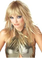 California Costume Women's Feathered And Flirty Wig