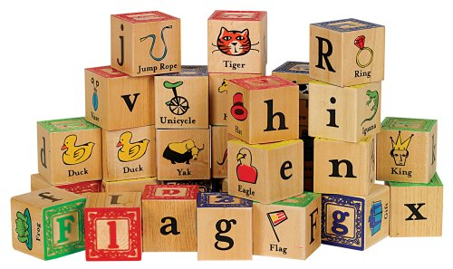 Small World Toys Ryan's Room Wooden Toys  - Block Party 36-Pc.