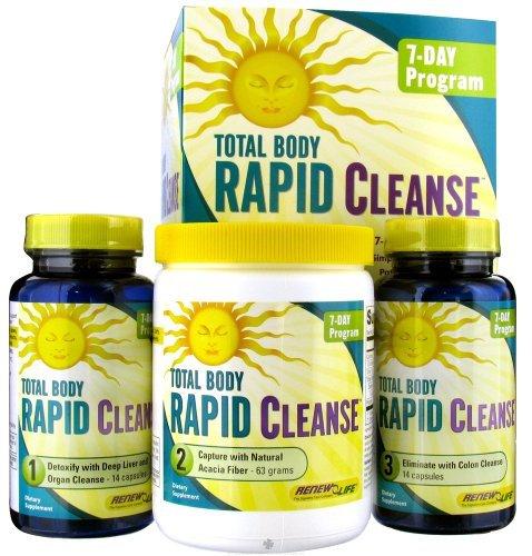 Renew Life - Total Body Rapid Cleanse Kit