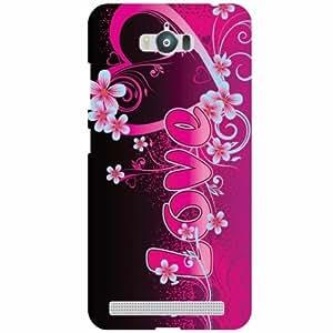 Asus Zenfone Max ZC550KL Back Cover Designer Hard Case Printed Cover
