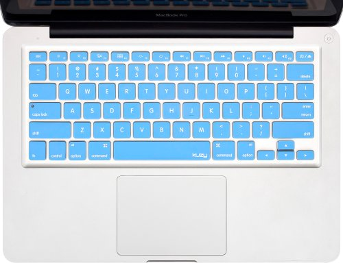 "Kuzy - Sky Blue Keyboard Cover Silicone Skin For Macbook Pro 13"" 15"" 17"" (With Or W/Out Retina Display) Imac And Macbook Air 13"" - Sky Blue"