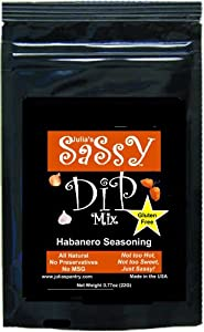 Julias Sassy Dip Mix Habanero Free Usa Shipping from Julia's Southern Foods, LLC