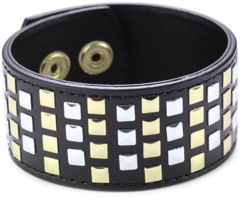 Joanna Laura Constantine Leather and Spike Bracelet