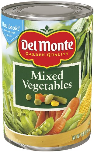 Del Monte Mixed Vegetables, 14.5-Ounce Cans (Pack of 12) (Mixed Vegetables compare prices)