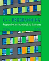 C++ Programming: Program Design Including Data Structures, 7th Edition Front Cover