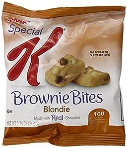 Special K Brownie Bites, Blondie, 0.74 Oz. Pouches, 6 Count
