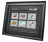 Impecca 17-Inch Digital Photo Frame with 4GB Internal Memory Stores 16,000 Photos and Full Function Remote Control (DFM1700)