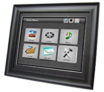 Impecca 17-Inch Digital Photo Frame with 4GB Internal Memory Stores 16000 Photos and Full Function Remote Control (DFM1700)
