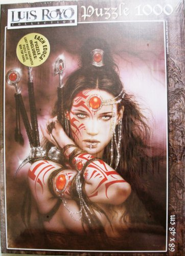 EDUCA-PUZZLE-Luis-Royo-Collection-Uranos-Drops-1000-Piece-Jigsaw-Puzzle-MADE-IN-SPAIN