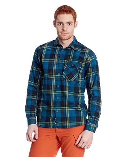 Lafuma Sportswear Camicia Uomo Amara Ls Shirtl [Blu Navy]