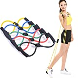 Futaba 8-Shaped Elastic Pull Rope Yoga Resistance Band For Yoga Pilates
