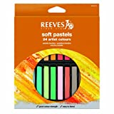 Reeves 24 Soft Pastels - Square