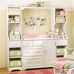 Amazon.com: Pottery Barn Kids Madison Changing Table System: Baby