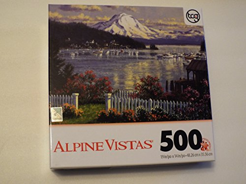 Alpine Vistas Mountain Scene 500 Piece Sure-lox