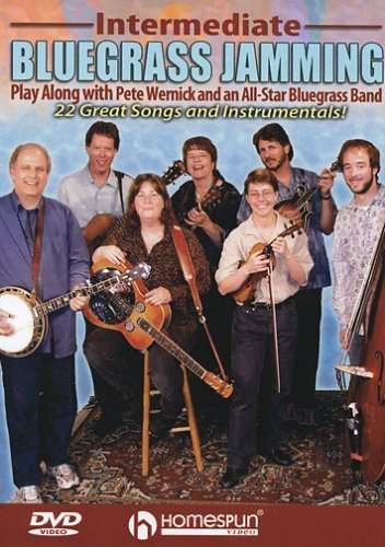 DVD : Intermediate Bluegrass Jam Session