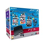 echange, troc Console PS3 320 Go noire + Move Starter Pack + Sports Champions + DanceStar Party + Medieval Moves