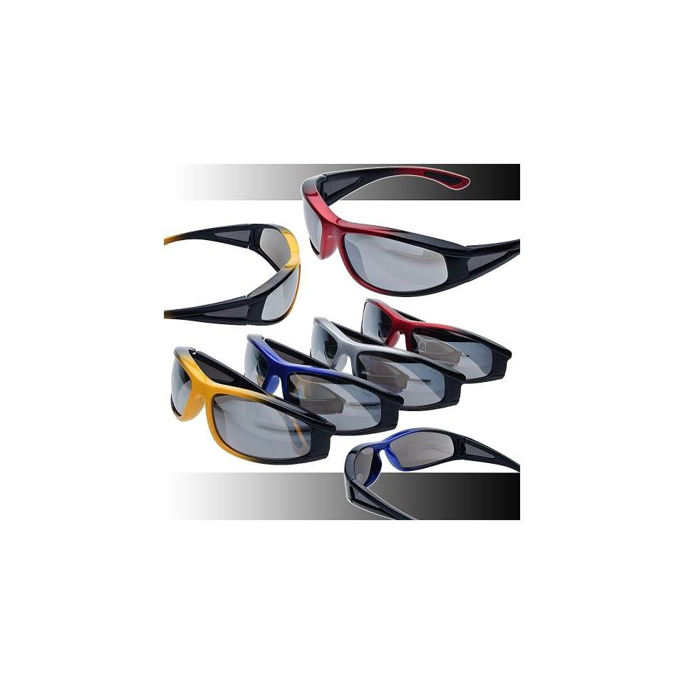 ad0ed8a8a6 Titan Integrity Smoke Flash Mirror Safety Glasses ANSI Z87.1+ on ...