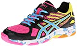 ASICS Women's Gel Flashpoint 2 Volley Ball Shoe,Black/Pool/Hot...