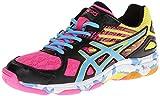 ASICS Women's Gel Flashpoint 2 Volley Ball Shoe,Black/Pool/Hot...