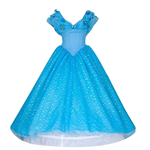 Cinderella Cosplay Costume Evening / Wedding / Party Prom Dress Mp002311