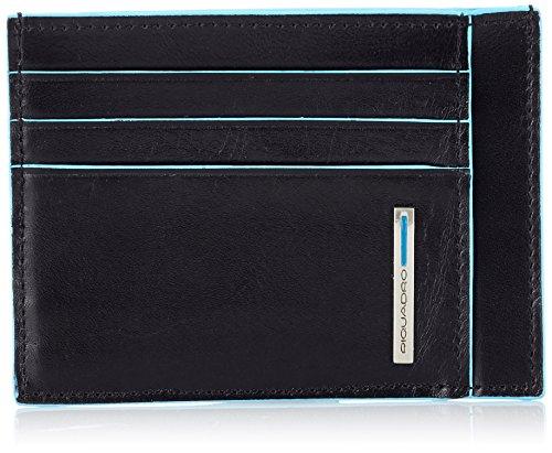 Piquadro PP2762B2 Bustina- Collezione Blu Square, Nero