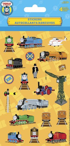 Thomas the Tank Standard Stickers - 4 Sheet