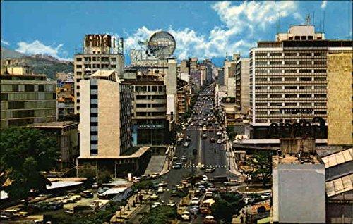 avenida-urdaneta-caracus-venezuela-original-vintage-postcard