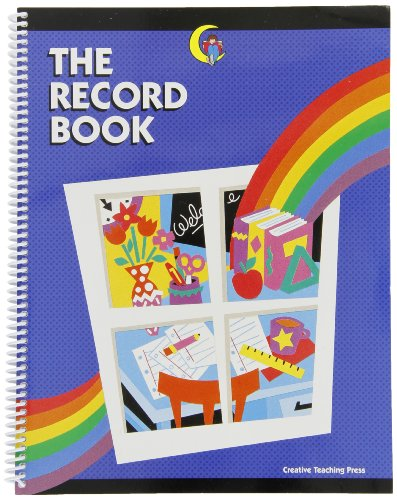 Creative Teaching Press Class Record Book for Grades K to 6 with Birthday Record and Seating Charts - 1