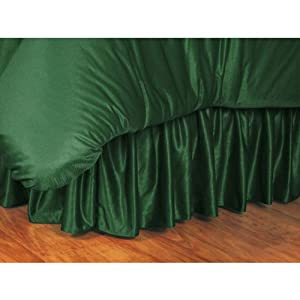NHL Polyester Jersey Bedskirt Size: Full, Team: Dallas Stars by Sports Coverage