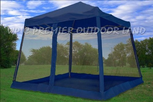 8x8 / 10x10 Pop up Canopy Party Tent Gazebo Ez & Screened Canopy CANOPY KINGS