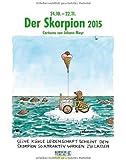 Skorpion 2015: Sternzeichen-Cartoonkalender