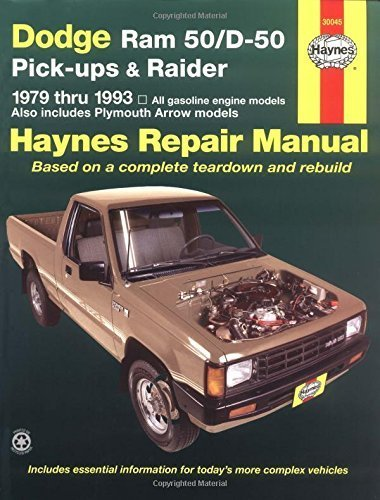 dodge-ram-50-d50-pickups-raider-1979-1993-haynes-automotive-repair-manuals-1st-edition-by-haynes-joh