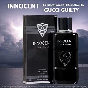 INNOCENT-FOR MEN-3.4 OZ-EDT-VERSION OF GUILTY BY GUCCI