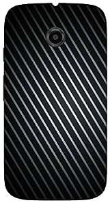 Timpax protective Armor Hard Bumper Back Case Cover. Multicolor printed on 3 Dimensional case with latest & finest graphic design art. Compatible with Motorola Moto -E-2 (2nd Gen )Design No : TDZ-28538