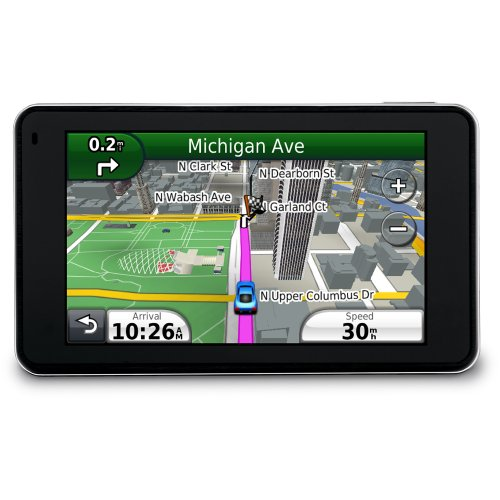Garmin nüvi 3790T 4.3-Inch Bluetooth Portable GPS Navigator with Lifetime Traffic