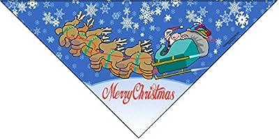 6 pc Holiday Dog Bandana - Set of 6 - Christmas, Halloween, Thanksgiving, Valentine's Day, St. Patricks Day, Patriotic
