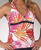 Nautica Women's Sunset Palms Tankini