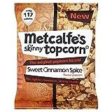 Metcalfe's Skinny Topcorn Popcorn - Sweet Cinnamon Spice (25g)