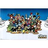 Club Penguin (Group) Art Poster Print