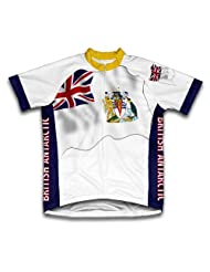 British Antarctic Flag Short Sleeve Cycling Jersey for Women - Size 2XL