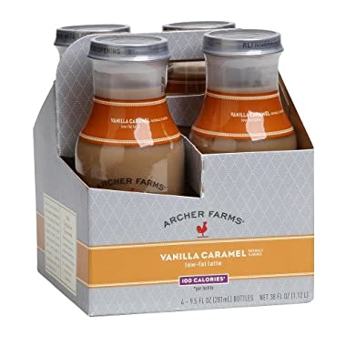 Product Image Archer Farms® 4-pk. Low-Fat Lattes - Vanilla Caramel