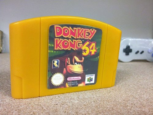 Novelty Soap Donkey Kong 64 Cartridge